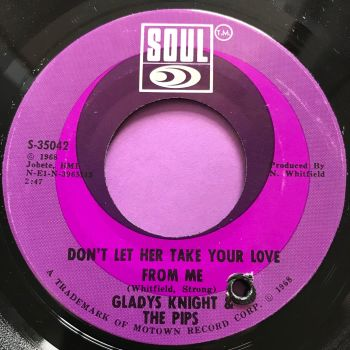 Gladys Knight-Don't let her take your love from me-Soul E