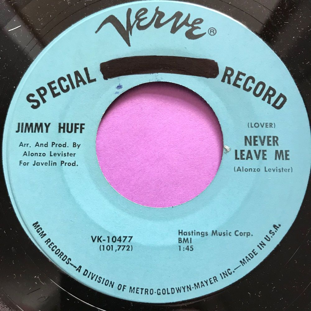 Jimmy Huff-Never leave me-Verve wol E+