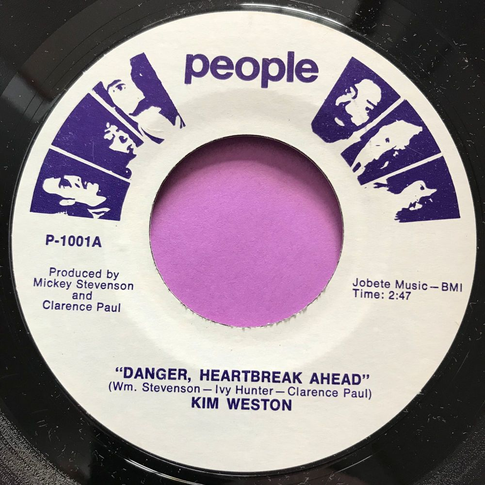 Kim Weston-Danger heartbreak ahead-People M-