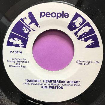 Kim Weston-Danger heartbreak ahead-People M-