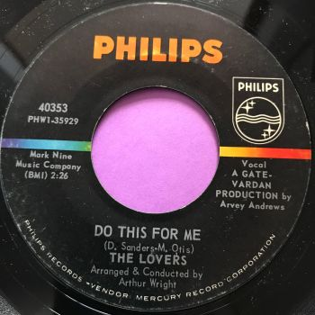Lovers-Do this for me-Philips E