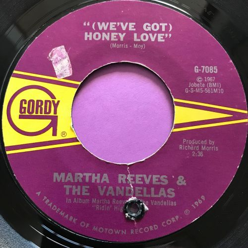 Martha Reeves-Honey love-Gordy E+