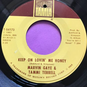 Marvin Gaye and Tammi Terrell-Keep on loving me honey-Tamla E