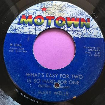 Mary Wells-What's easy for two-Motown E