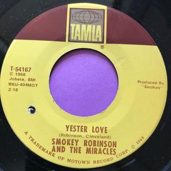 Miracles-Yester love-Tamla E+