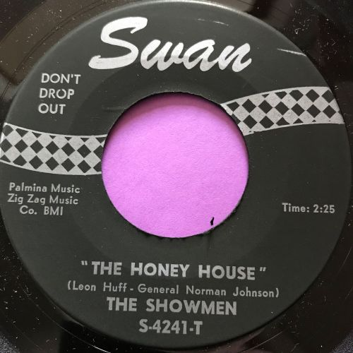 Showmen-The honey house/ Please try and understand-Swan E+