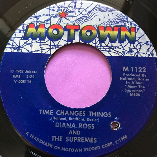 Supremes-Time changes things-Motown E+