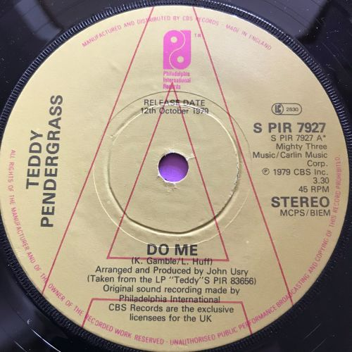 Teddy Pendergrass-Do Me-UK PIR Demo M-