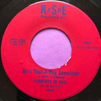 Scientists of soul-Be's that way sometimes-Kashe E+