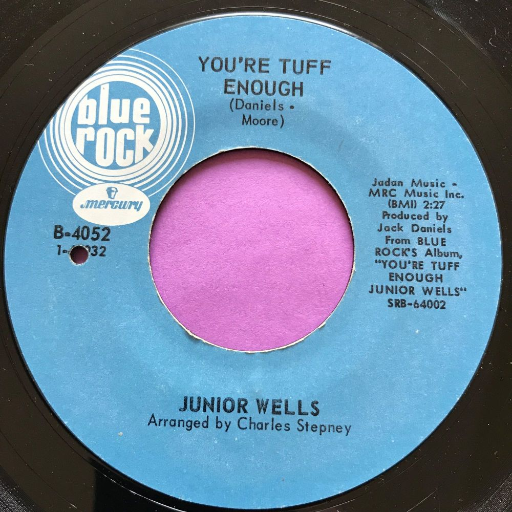 Junior Wells-You're tuff enough-Blue rock E+