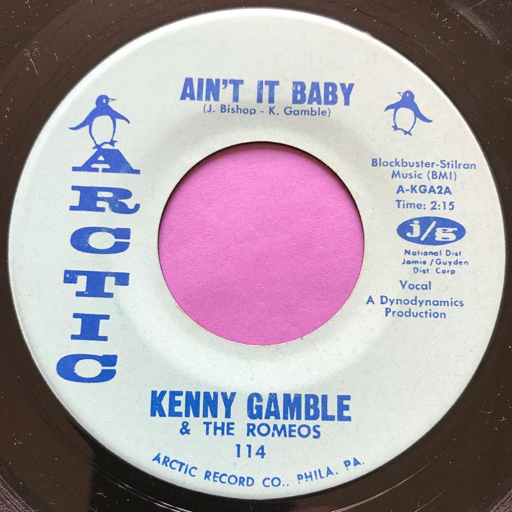 Kenny Gamble-Ain't it baby-Arctic E