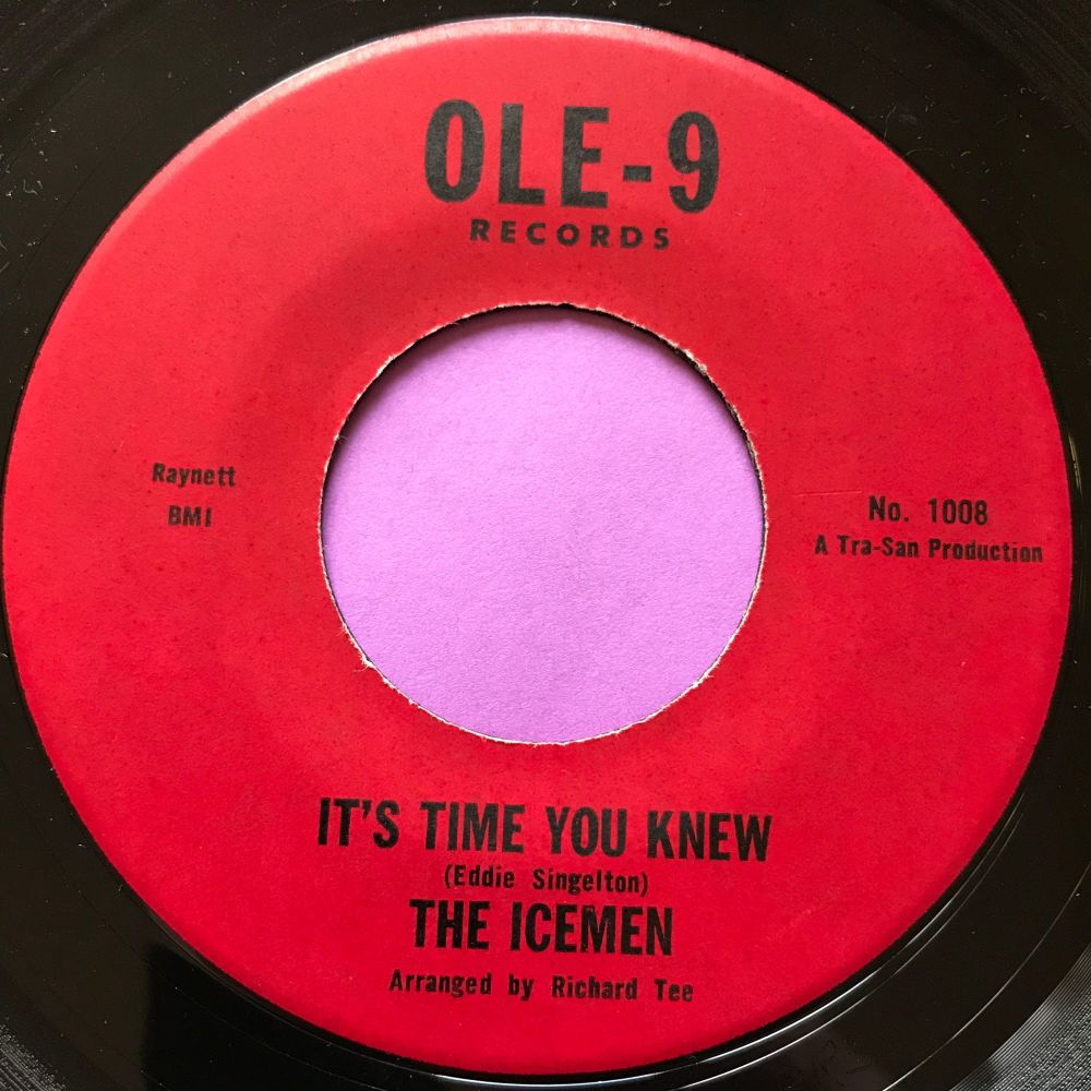 Icemen-It's time you knew/ It's gonna take a lot-Ole 9 E