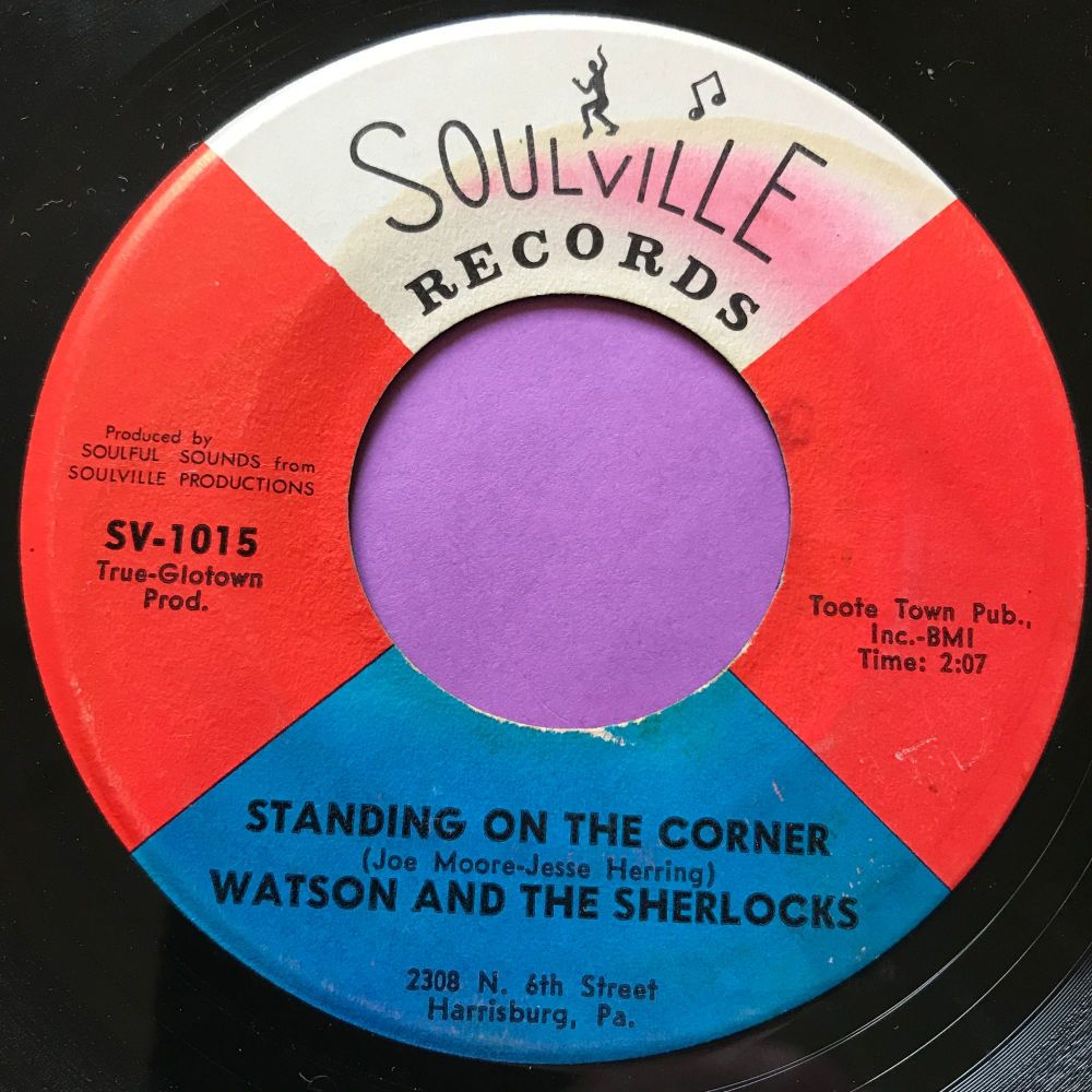 Watson and the Sherlocks-Standing on the corner-Soulville E