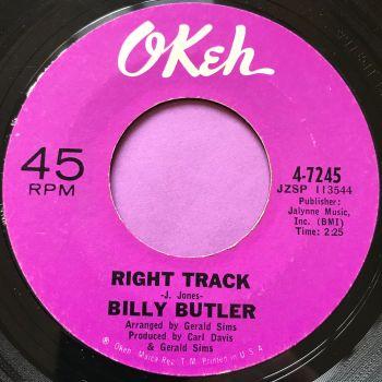 Billy Butler-Right track-Okeh E-