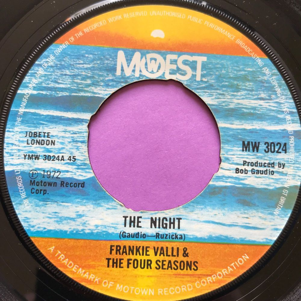 Frankie Valli-The night-UK Mowest noc E