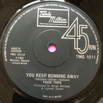Four Tops-You keep on running away-TMG 1011 E+