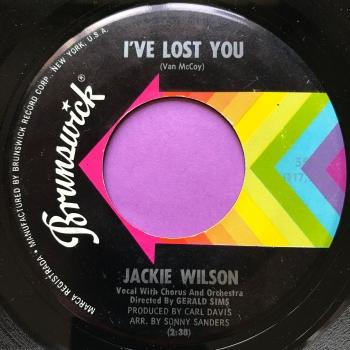 Jackie Wilson-I've lost you-Brunswick E+