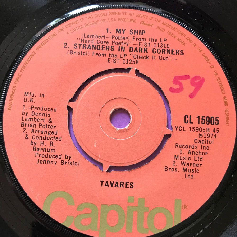 Tavares-Strangers in dark corners-Capitol EP E+