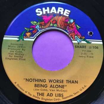 Ad Libs-Nothing worse than being alone-Share E+