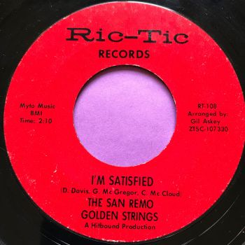 San Remo Golden Strings-I'm satisfied-Rictic E