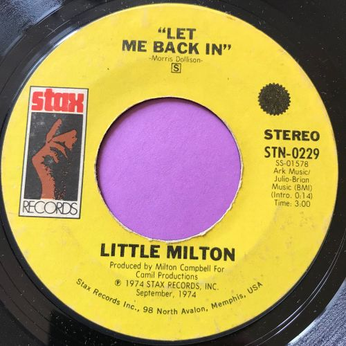 Little Milton-Let me back in-Stax E