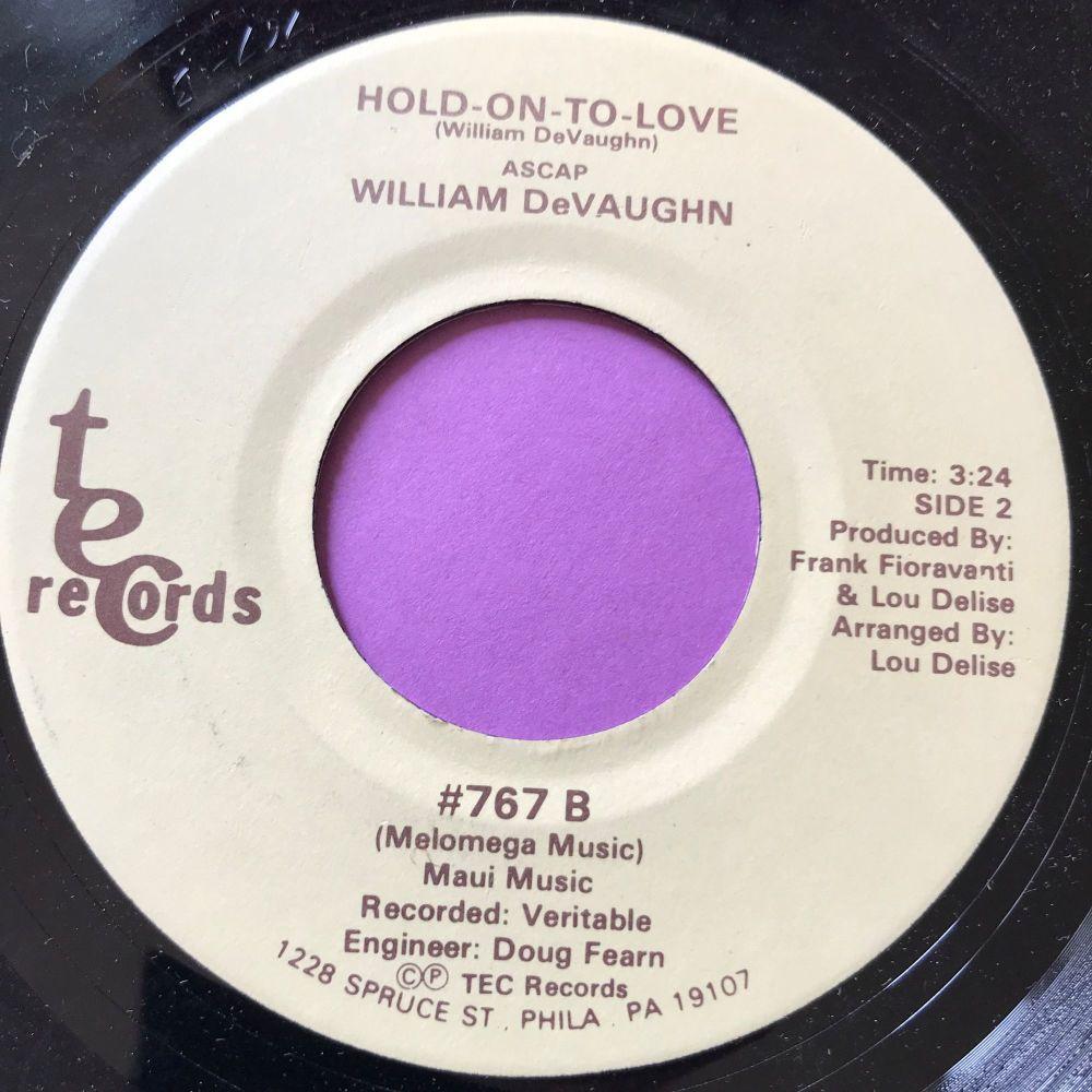 William DeVaughn-Hold on to love-TEC E+