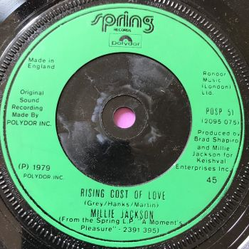 Millie Jackson-Rising cost of love-UK Spring E+