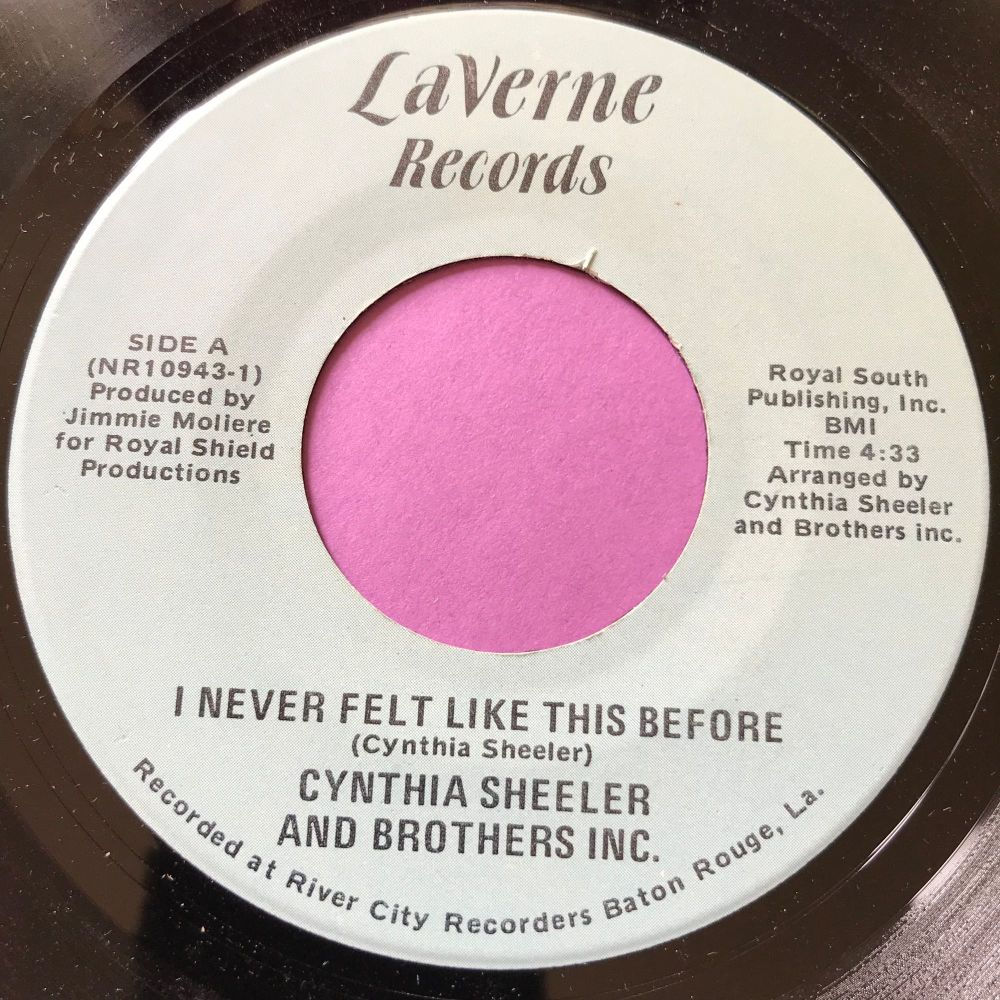Cynthia Sheeler-I never felt like this before-LaVerne E+