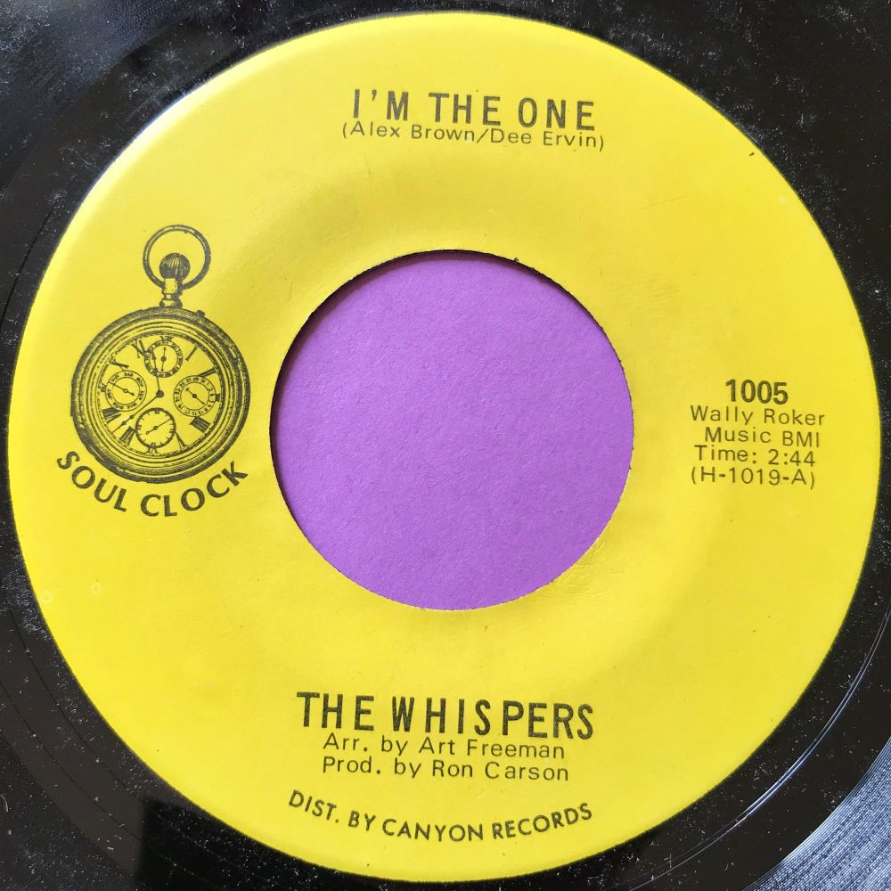 Whispers-I'm the one-Soul clock E+
