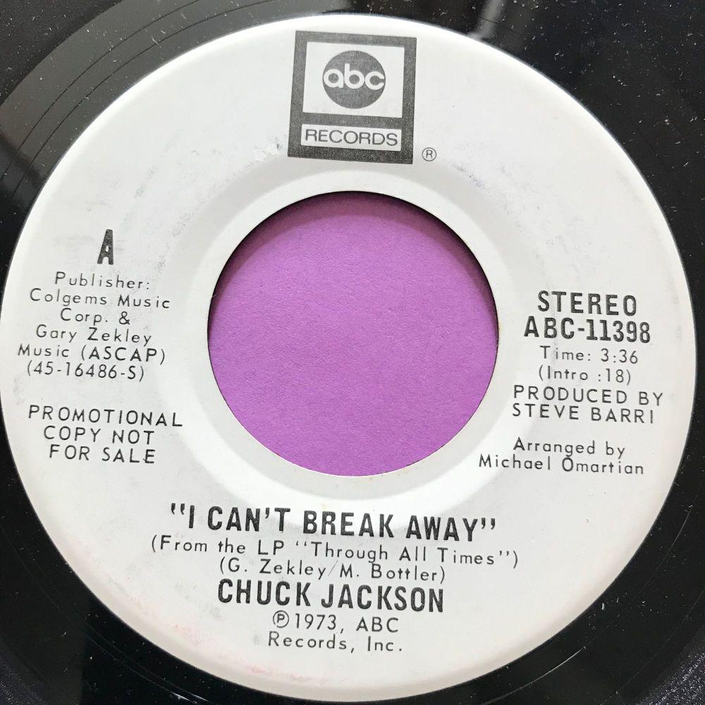 Chuck Jackson-I can't break away-ABC WD E+