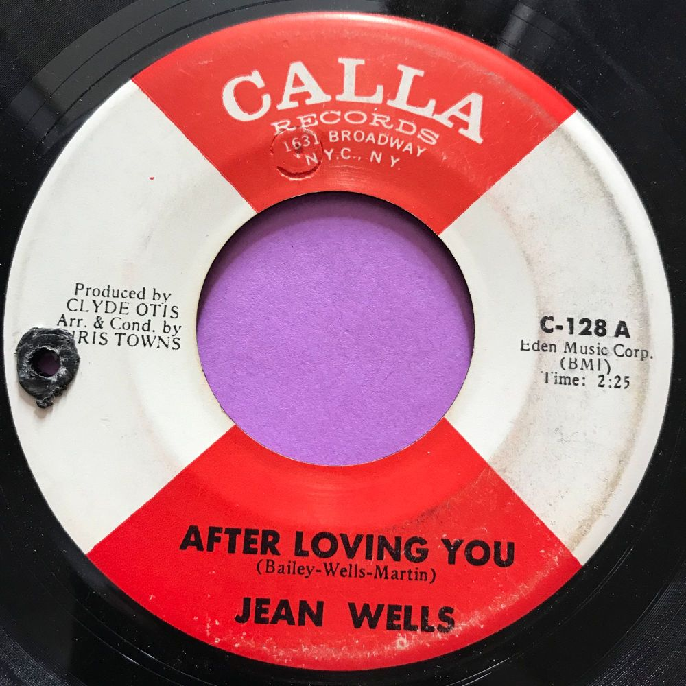 Jean Wells-After loving you-Calla E