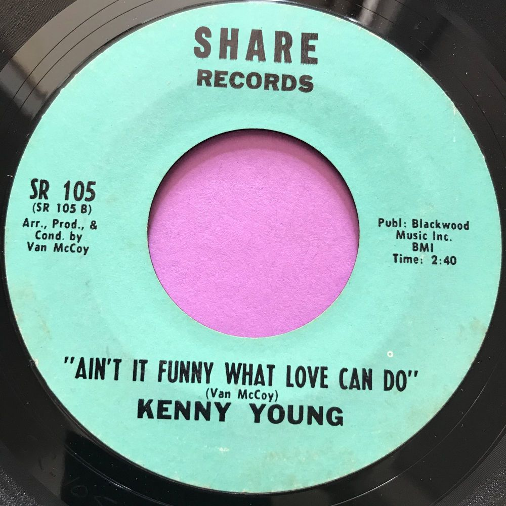 Kenny Young-Ain't it funny what love can do-Share E+