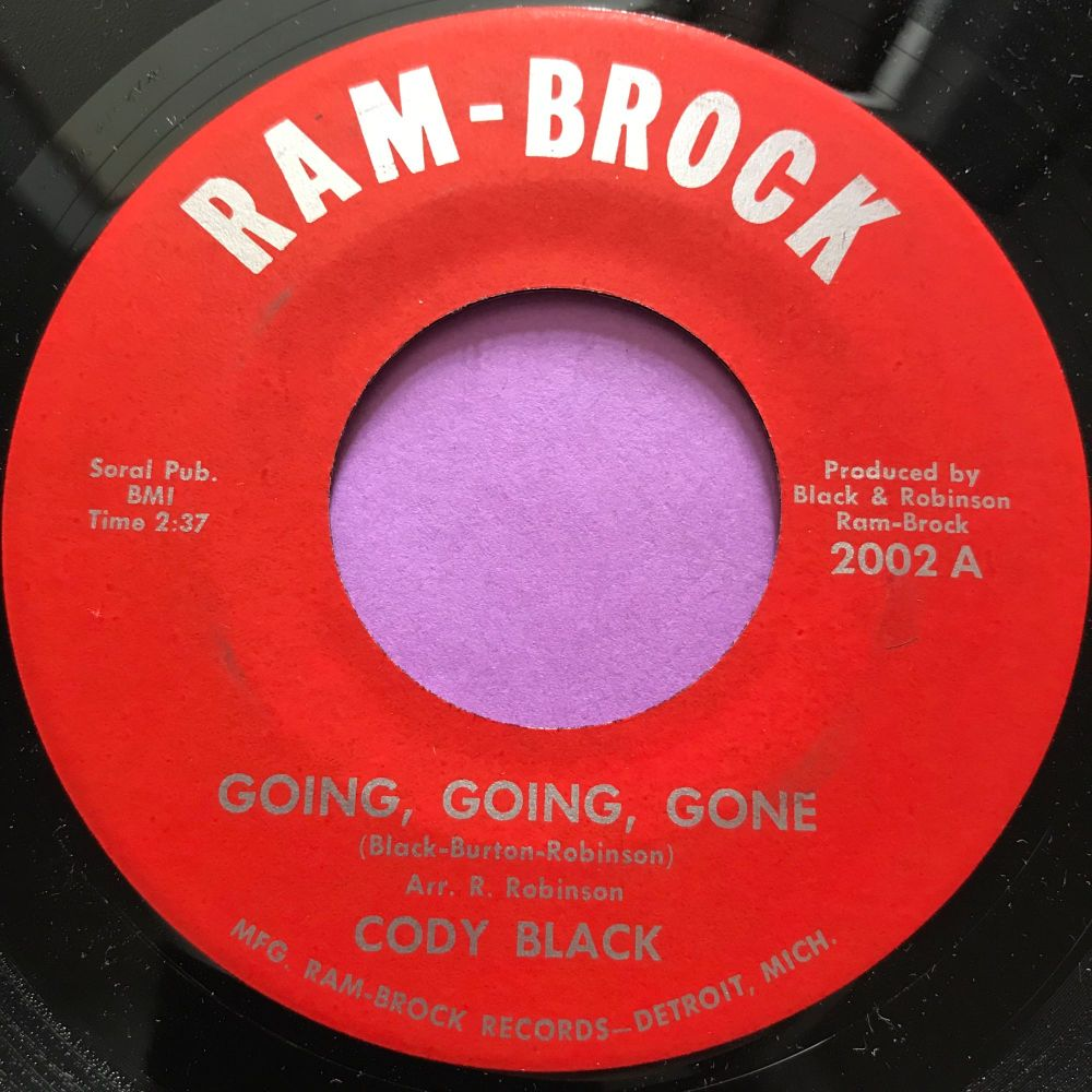 Cody Black-Going going gone-Ram-Brock M-