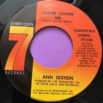 Ann Sexton-You're losing me-Seventy seven M-
