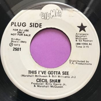 Cecil Shaw-This I've got to see-Bilmar WD E+