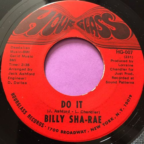 Billy Sha-Rae-Do it-Hour glass M-