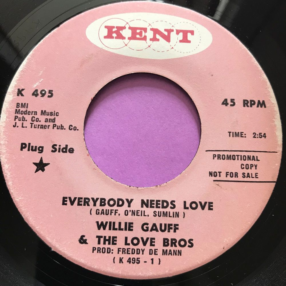 Willie Gauff-Everybody needs love-Kent E