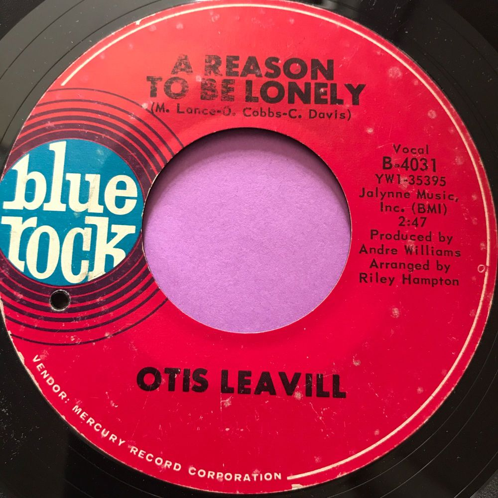 Otis Leavill- A Reason to be lonely-Blue rock E
