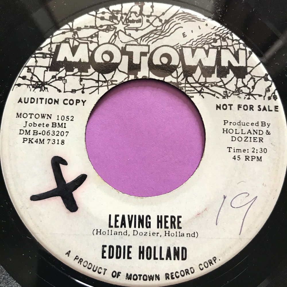 Eddie Holland-Leaving here-Motown WD x E