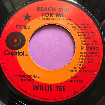 Willie Tee-Reach out for me-Capitol E+