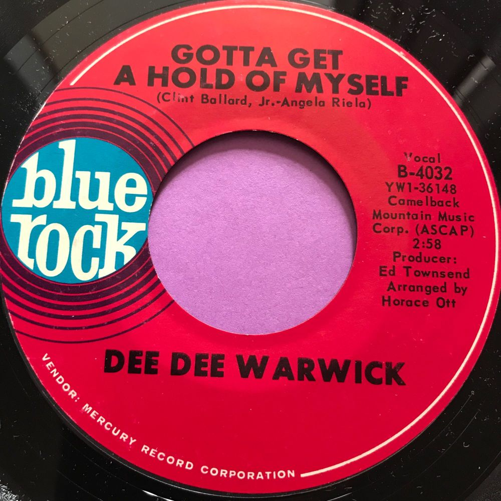 Dee Dee Warwick-Gotta get a hold of myself-Blue rock E+