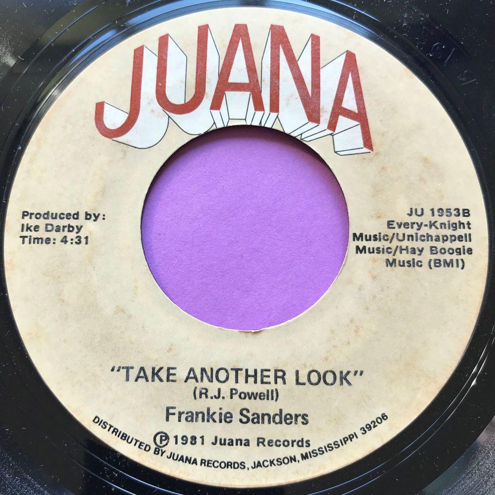 Frankie Sanders-Take another look-Juana E+
