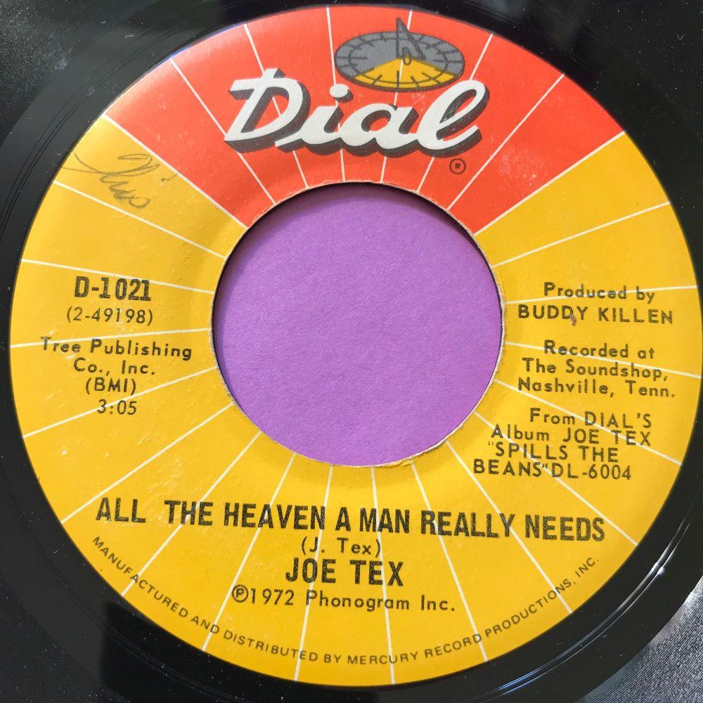 Joe Tex-All the heaven a man really needs-Dial wol E+