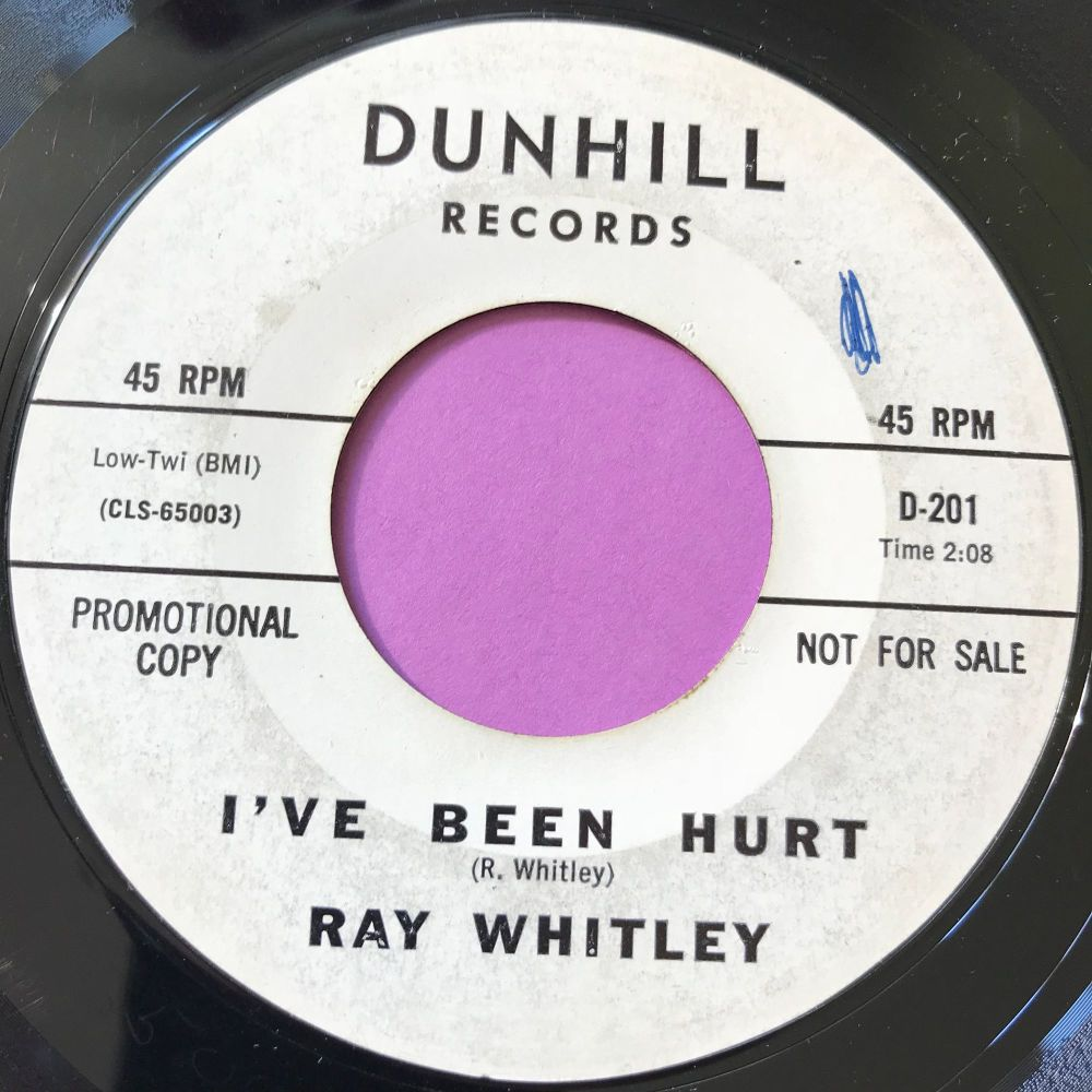 Ray Whitley-I've been hurt-Dunhill WD E