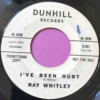 Ray Whitley-I've been hurt-Dunhill WD wol E-