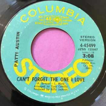 Patti Austin-Can't forget the one I love-Columbia demo E