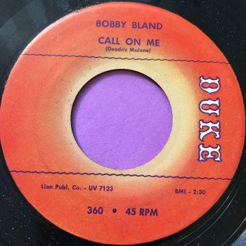 Bobby Bland-Call on me-Duke E