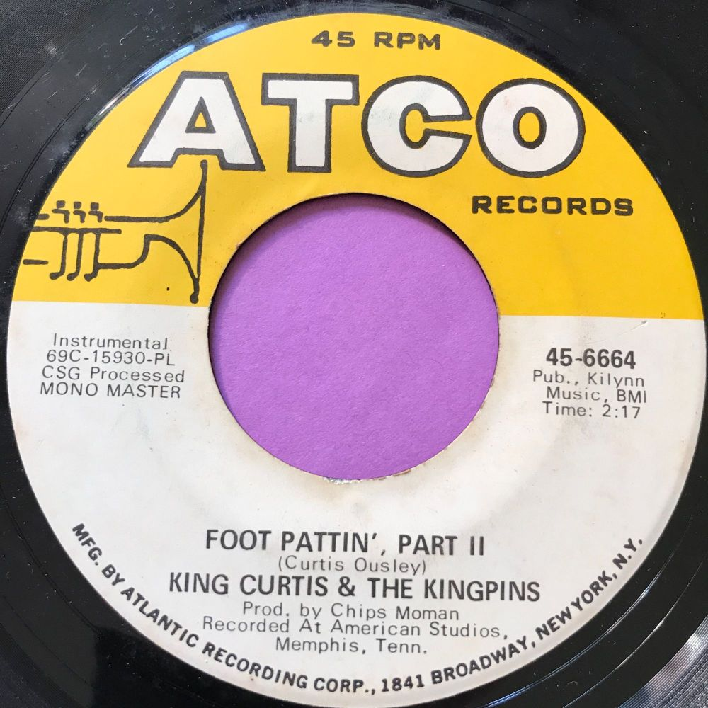 King Curtis-Foot Pattin' Part 2-Atco E+