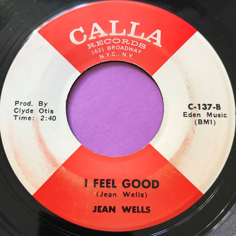Jean Wells-I feel good-Calla E+