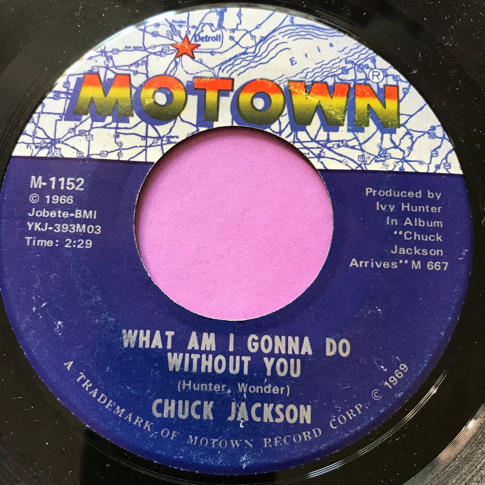 Chuck Jackson-What am I gonna do without you-Motown E+